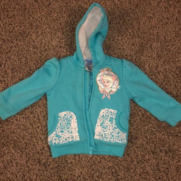Disney Other - Disney Elsa zip up jacket